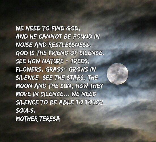 Mother Teresa Inspirational Quote  by Johnhalifax