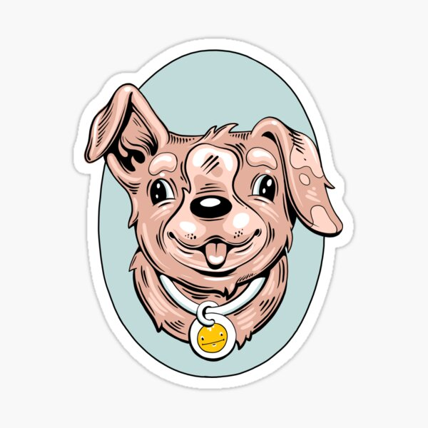Ned's Pup Sticker