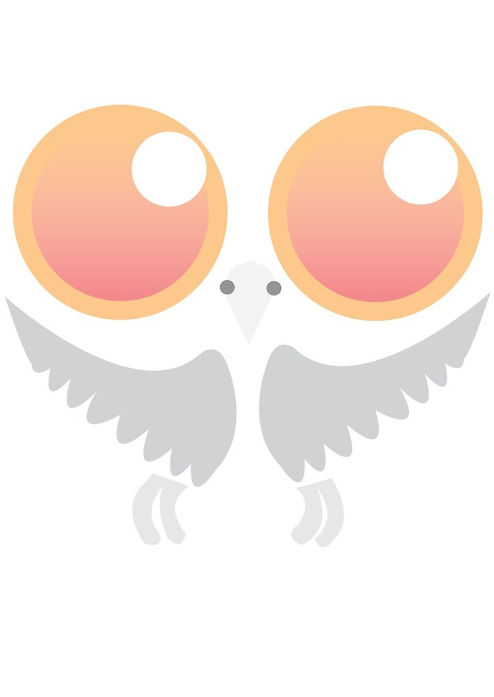Peach eye owl. by Animator-Tana11