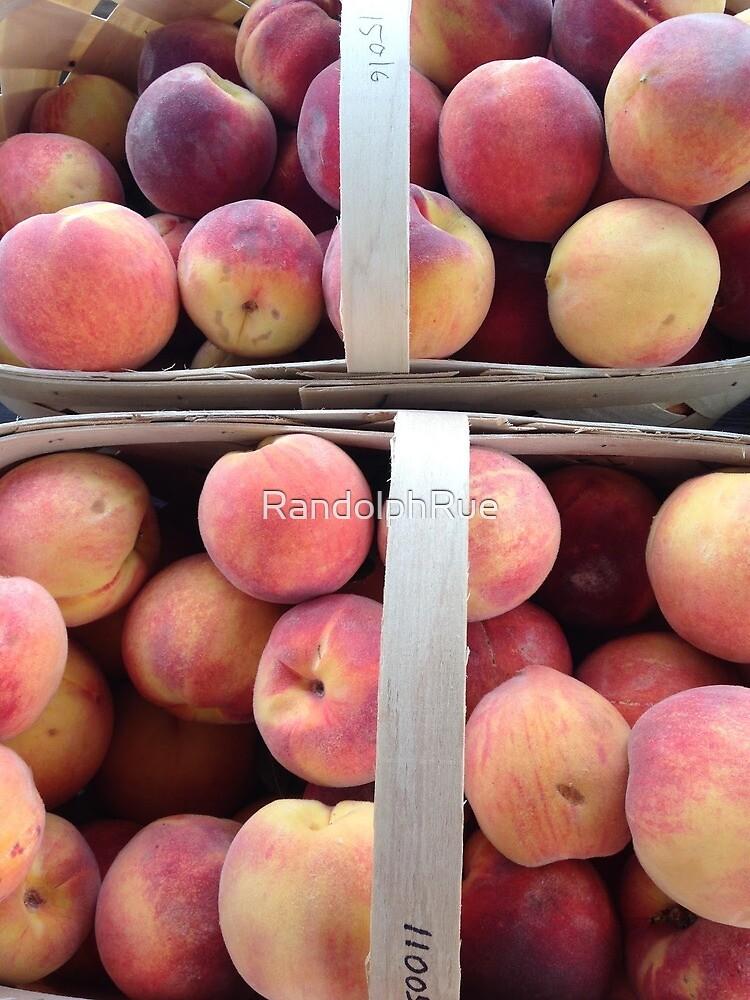Baskets of Peaches by RandolphRue