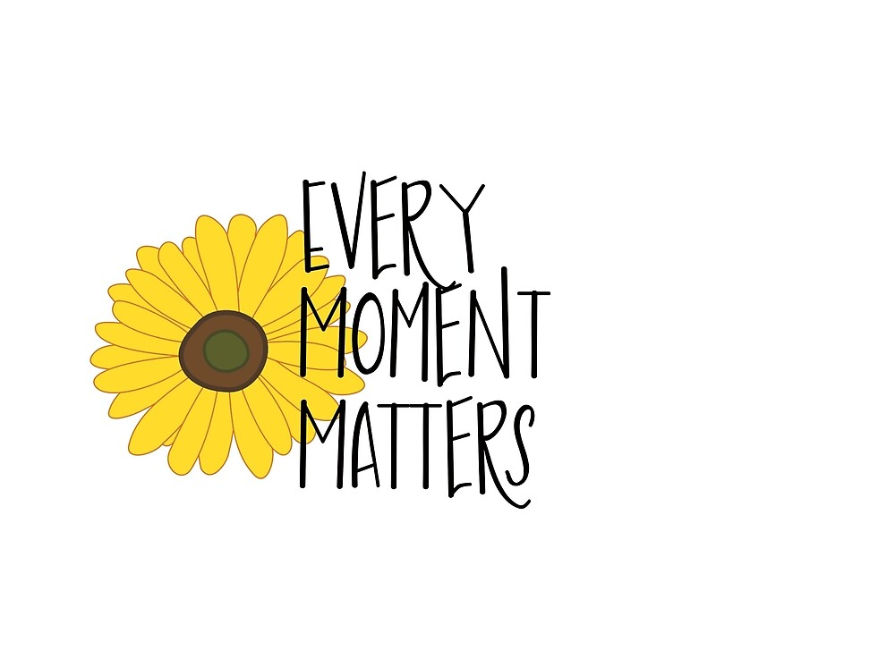 Every Moment Matters by anniebananie13