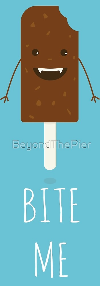 Chocolate Ice lolly Vampire Character by BeyondThePier