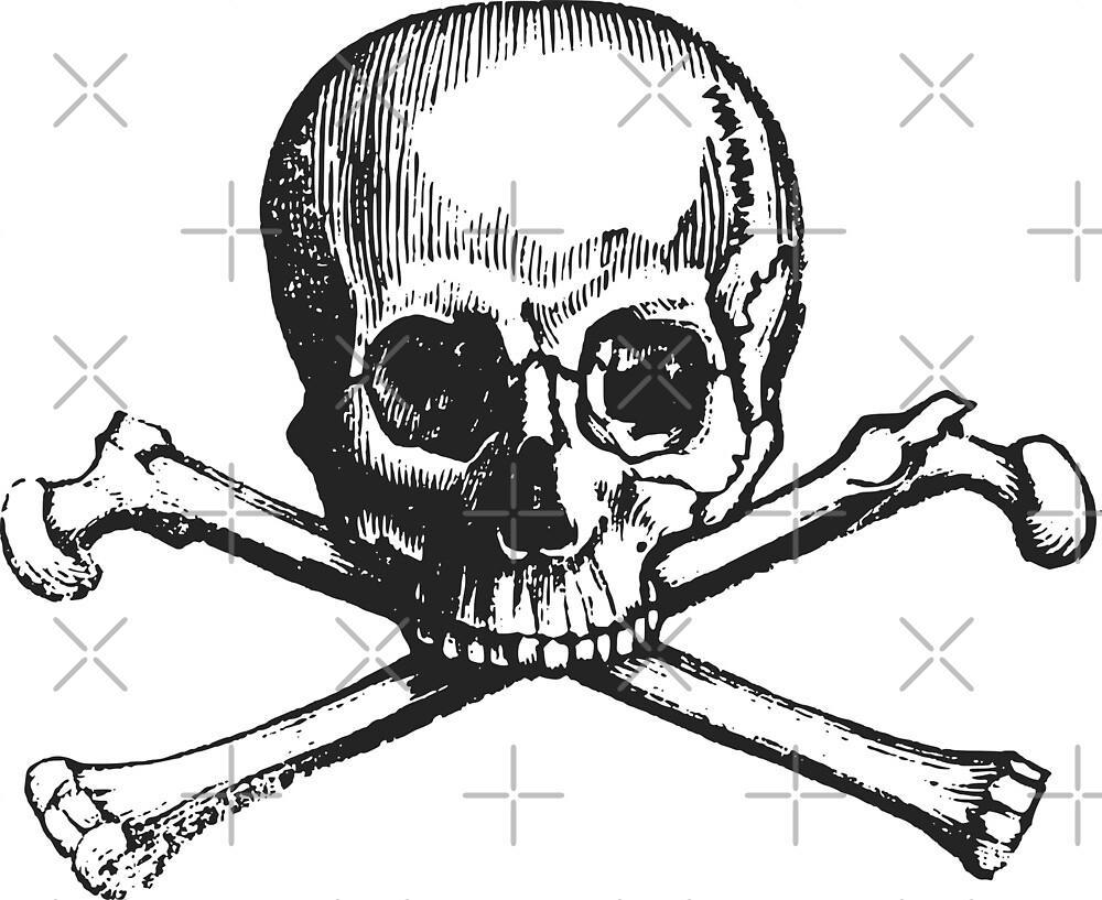 Skull and crossbones by Dream Imagine Create .
