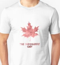 "Clara Oswald ""The Impossible Girl"" T-Shirt"