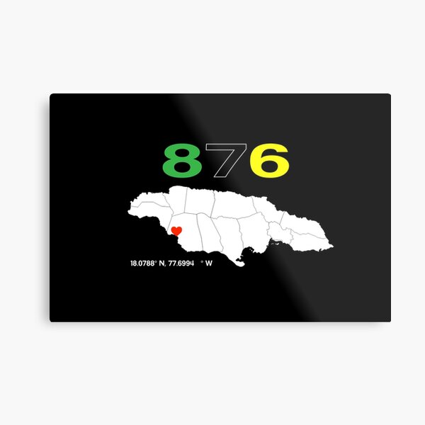 Jamaica - I love St. Elizabeth Metal Print