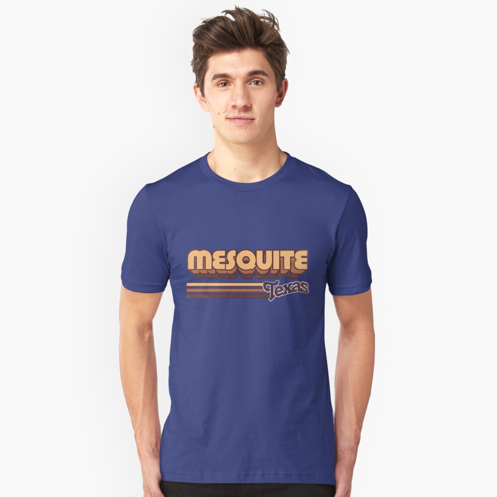 Mesquite, TX | City Stripes Unisex T-Shirt Front