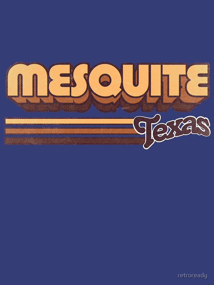 Mesquite, TX | City Stripes by retroready