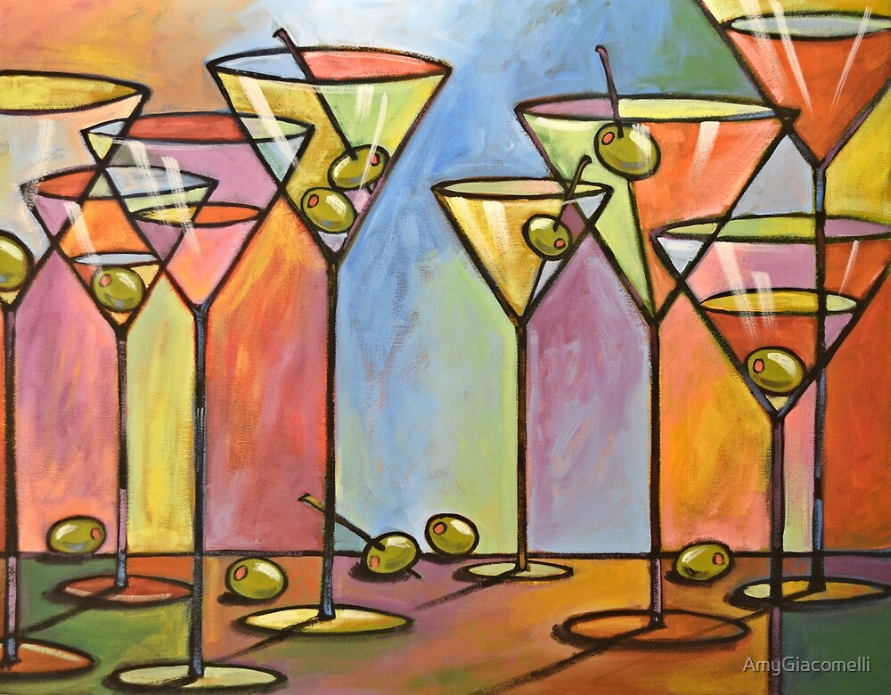Martini Bar by AmyGiacomelli