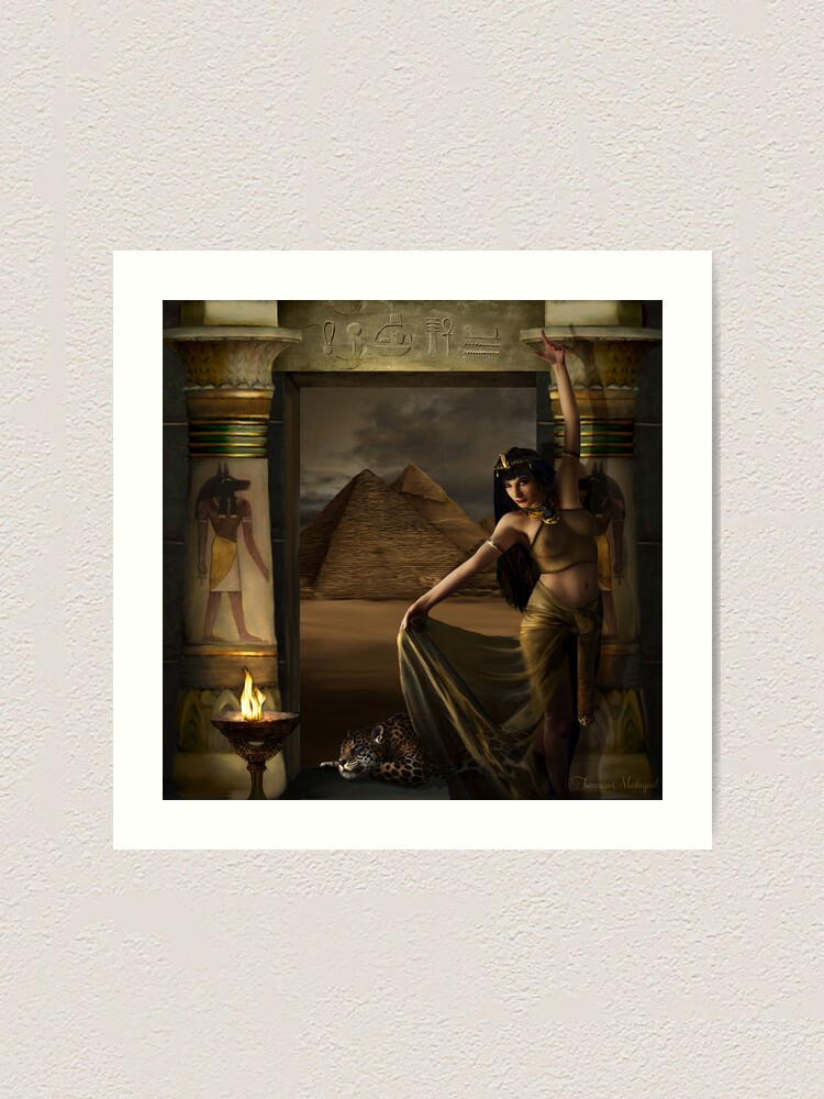 Alternate view of Bastet Art Print