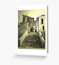 Gate on the past Greeting Card