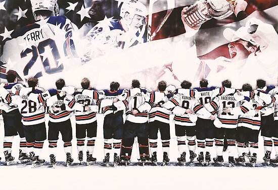 Team USA Hockey Poster by vandaldesigns