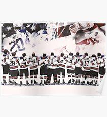 Team USA Hockey Poster Poster