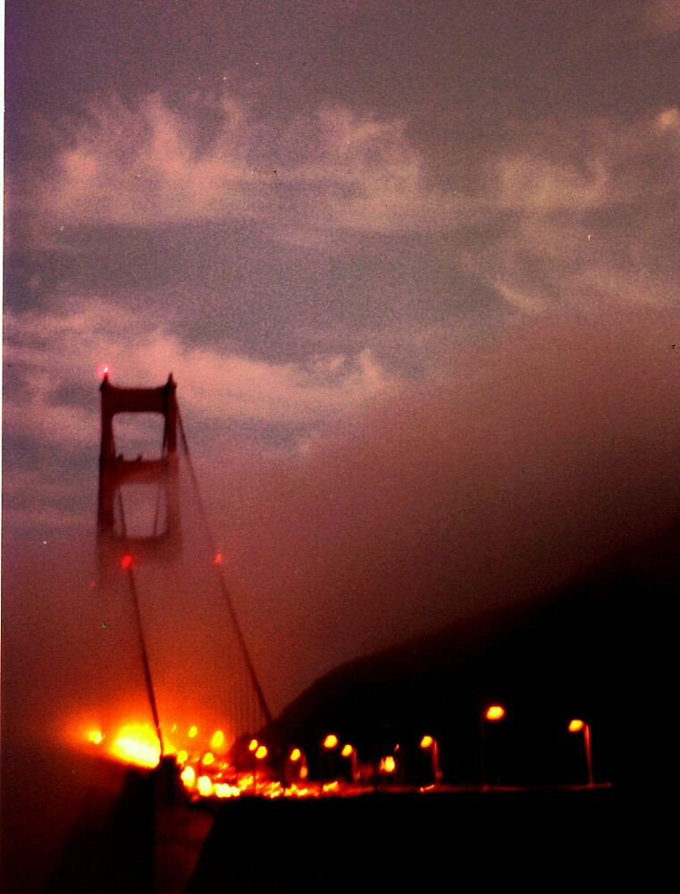 Golden Gate at dusk by Jim DeMore