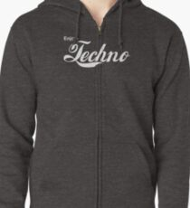 Enjoy Techno Zipped Hoodie