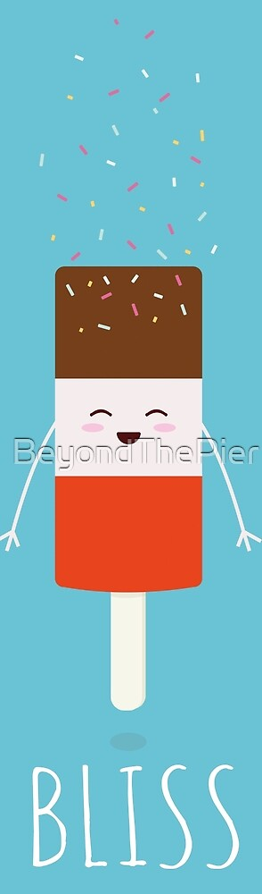Ice Lolly Character with Sprinkles by BeyondThePier