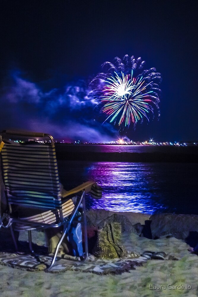 summer fireworks by Laura Cardello