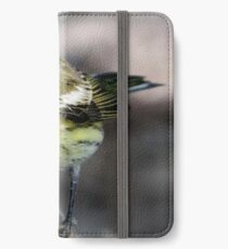 cape may warbler iPhone Wallet