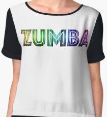 Zumba Rainbow Women's Chiffon Top