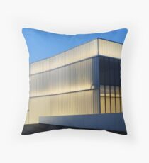 The Bloch Building Throw Pillow