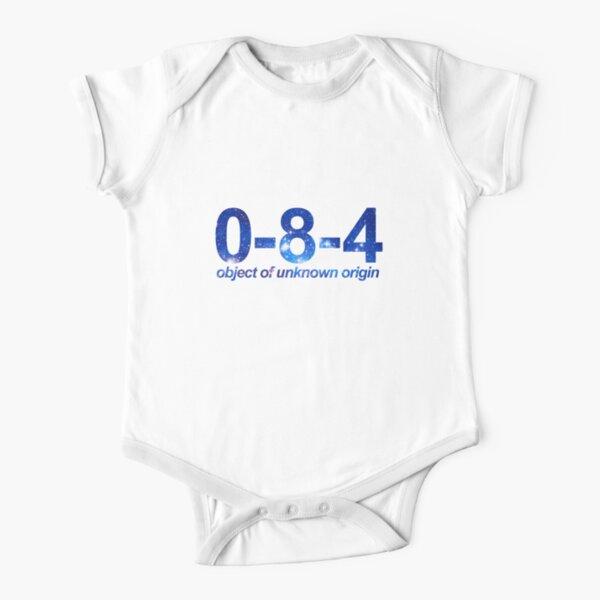 084 Short Sleeve Baby One-Piece