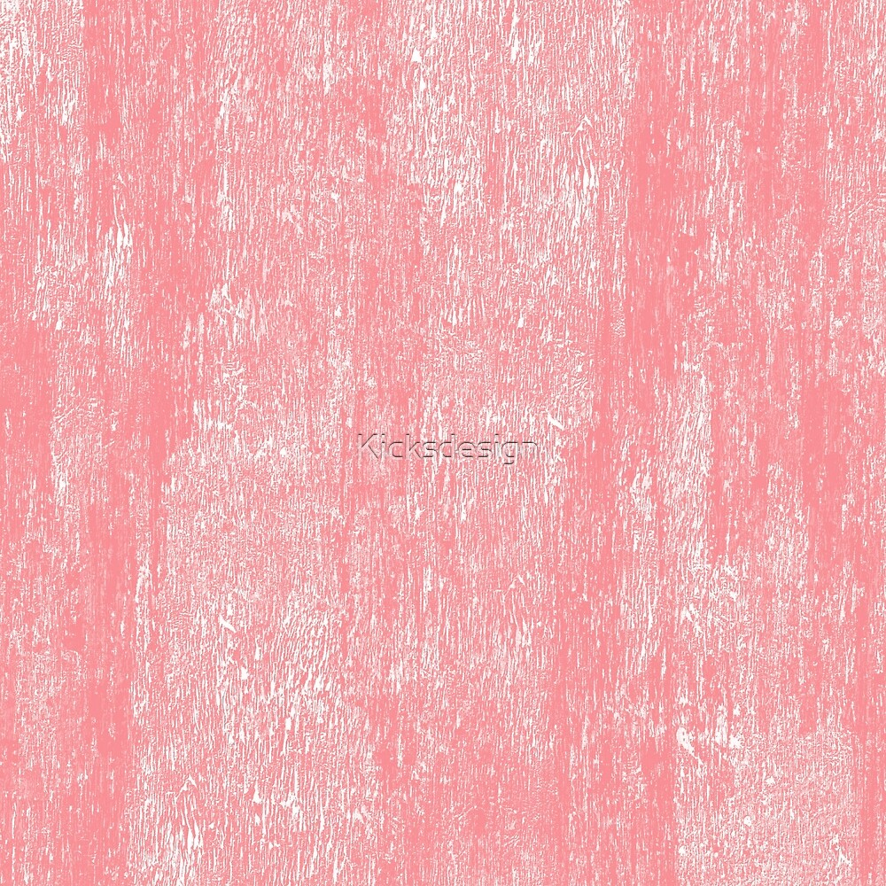Coral white modern watercolor paint brushstrokes  by Maria Fernandes
