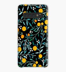 Oranges on Black Case/Skin for Samsung Galaxy