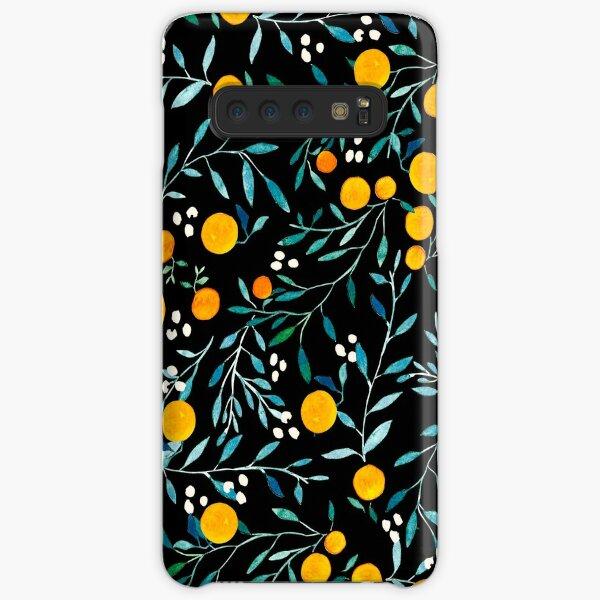 Oranges on Black Samsung Galaxy Snap Case