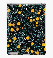 Oranges on Black iPad Case/Skin