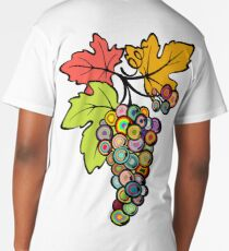 Grapes of Many Colors Long T-Shirt