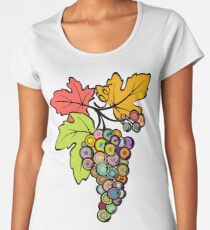 Grapes of Many Colors Women's Premium T-Shirt