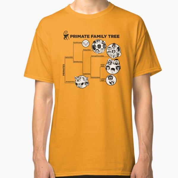 Arbre généalogique des primates T-shirt classique