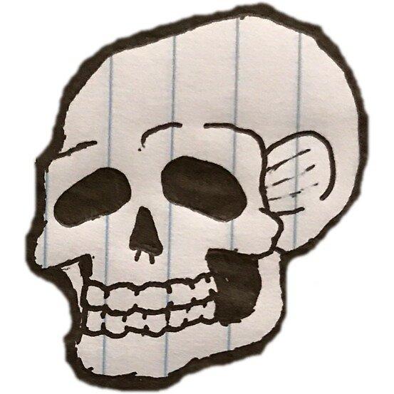 Skull by mitchelrushing