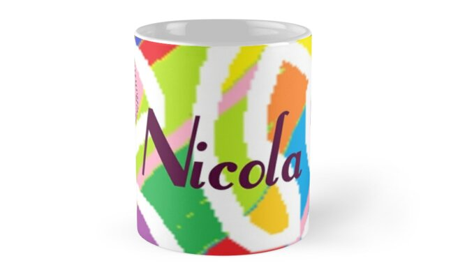 Nicola -  original artwork to personalize your gift by myfavourite8