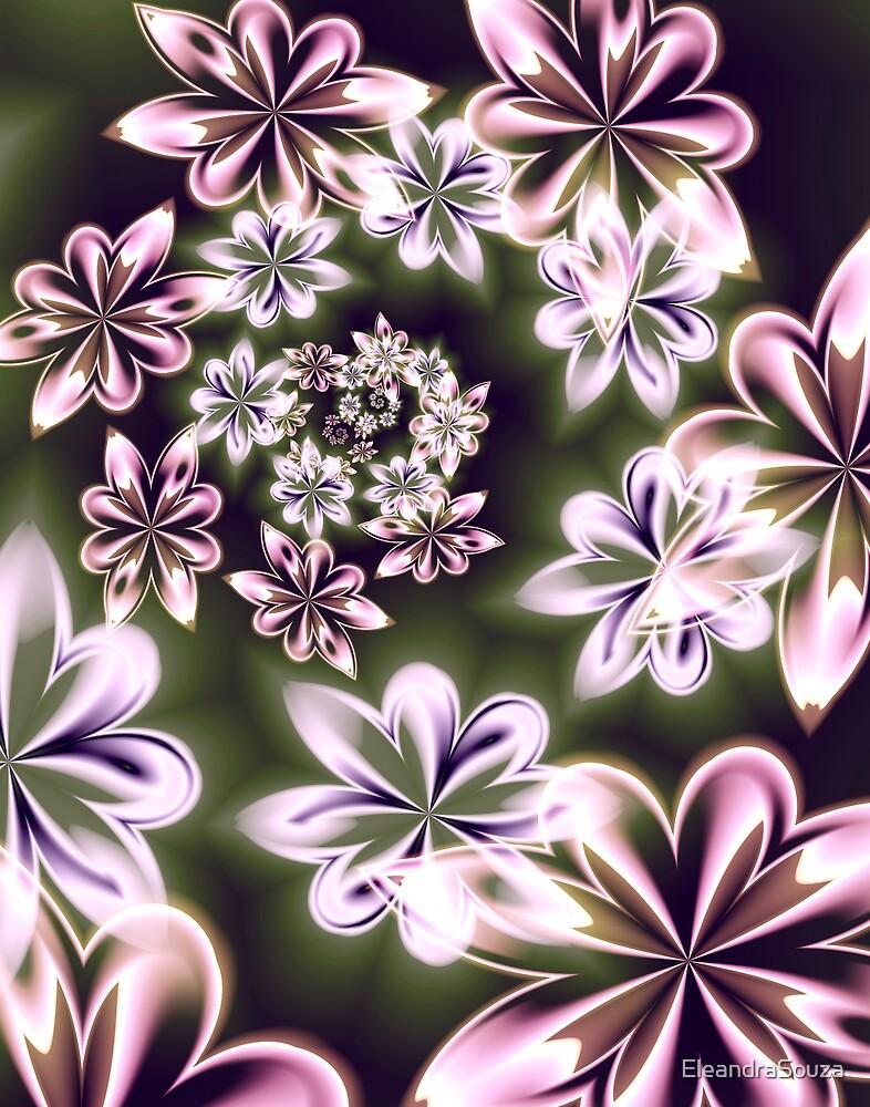 Flowers in Neon by EleandraSouza