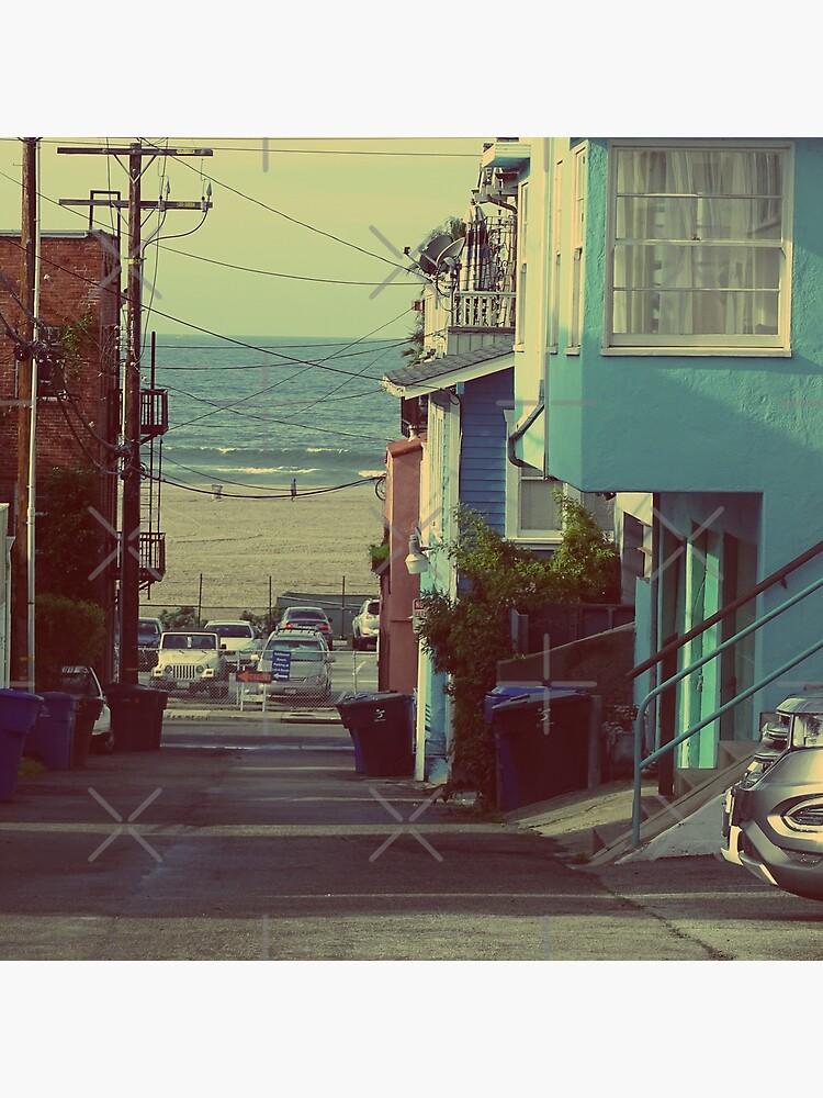 LA, Beach in LA, Santa Monica beach,  by PicsByMi