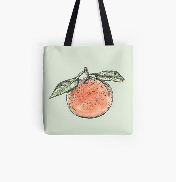 Clementine All Over Print Tote Bag