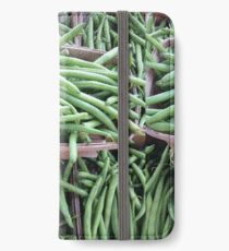 Baskets of Green Beans iPhone Wallet/Case/Skin