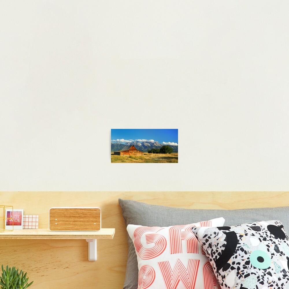 """The Barn"" on Mormon Row Photographic Print"