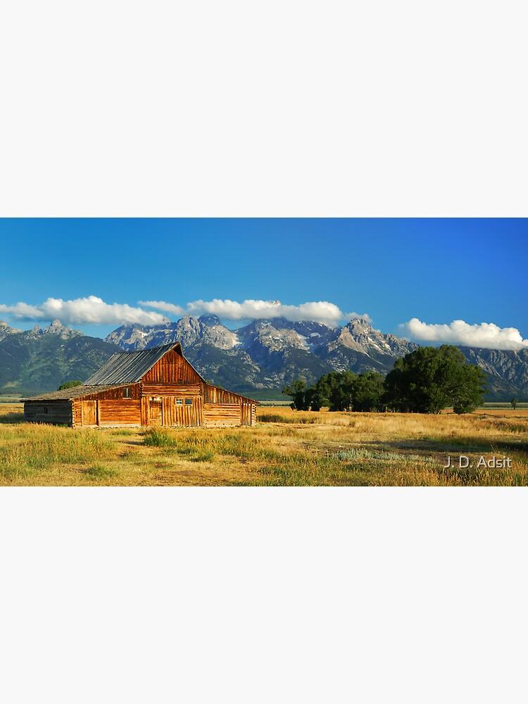 """The Barn"" on Mormon Row by adsitprojectpro"