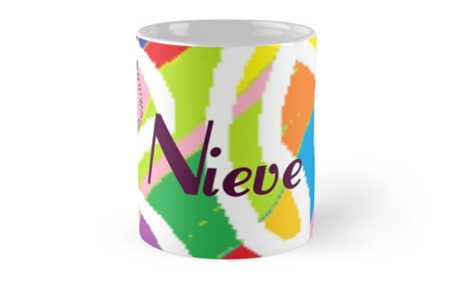 Nieve - original artwork to personalize your gift by myfavourite8