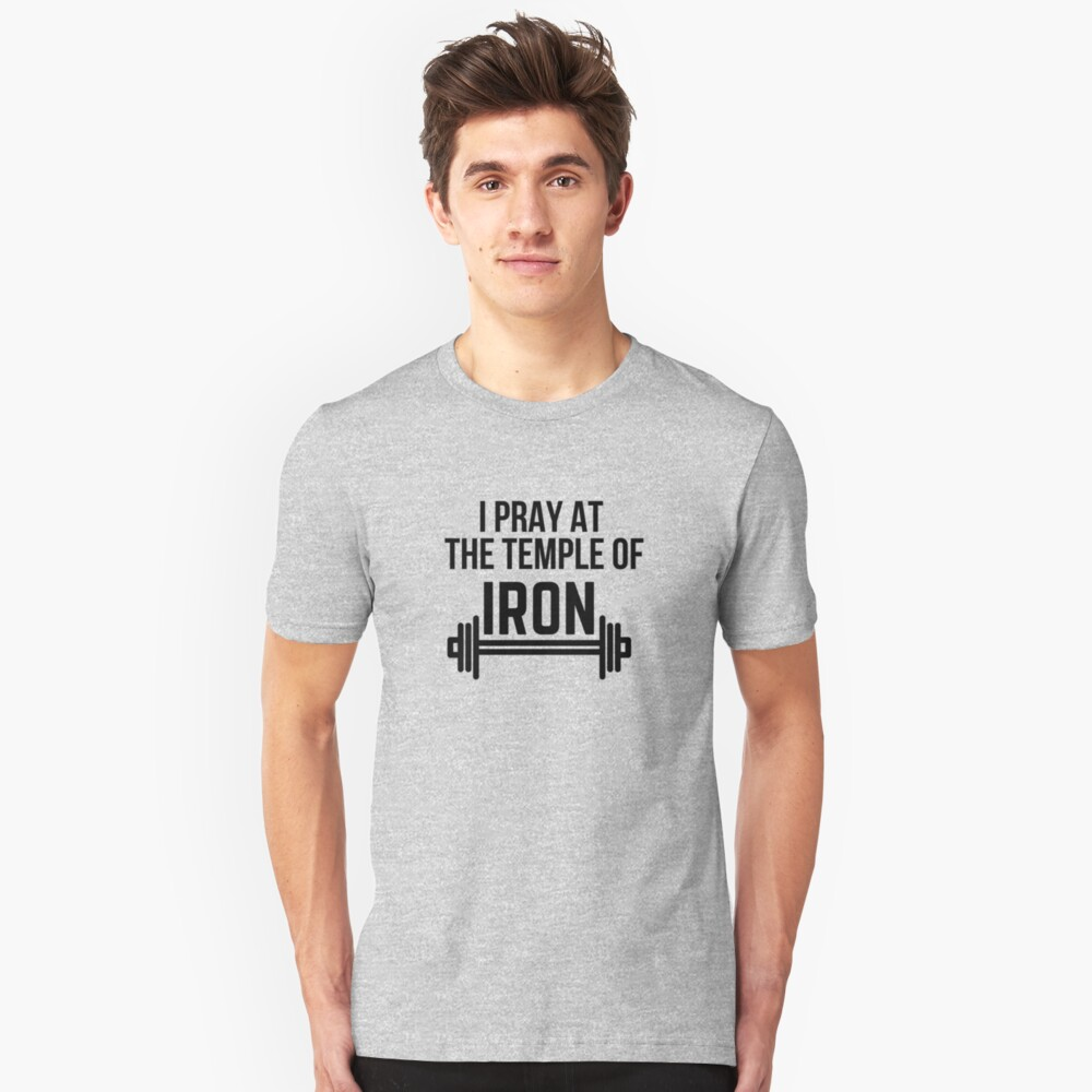 Temple of Iron Unisex T-Shirt Front