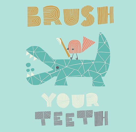 Splish Splash Zoo - Brush Your Teeth by Heather Rosas