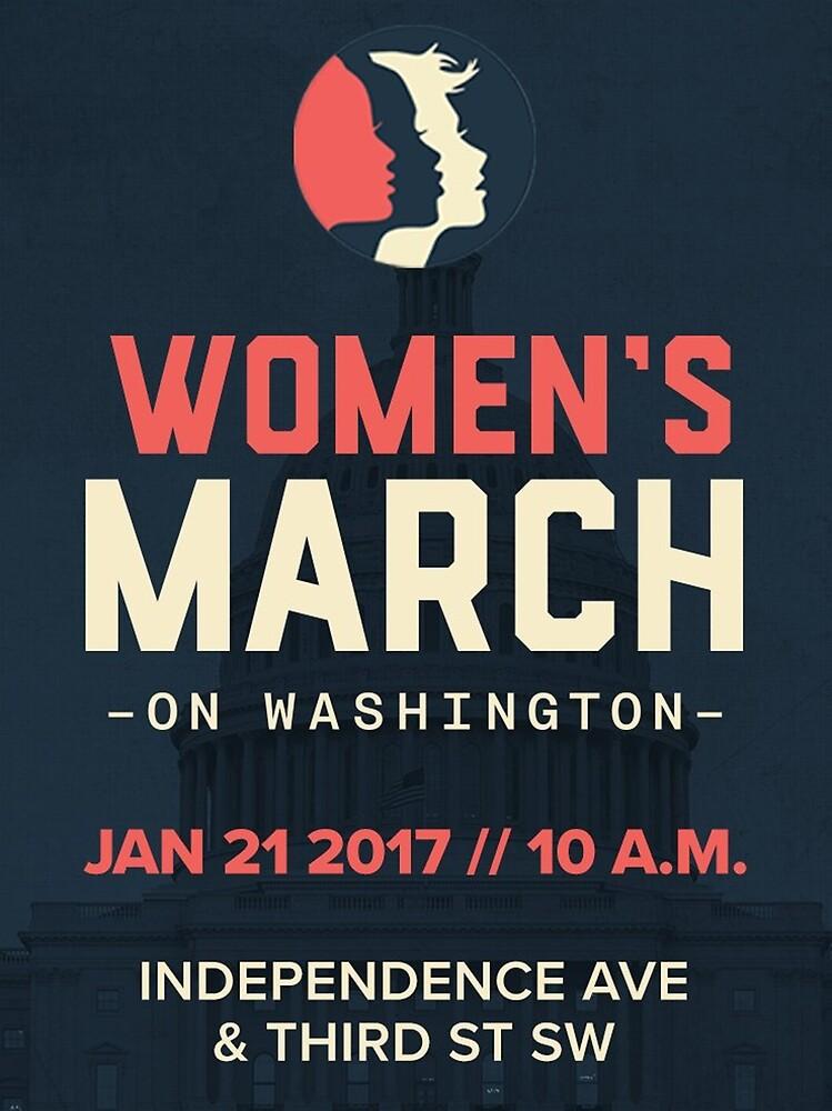 T-Shirts Women's March on Washington 2017 by woman77