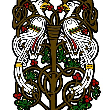 Celtic Knotwork Tree Of Life by potty