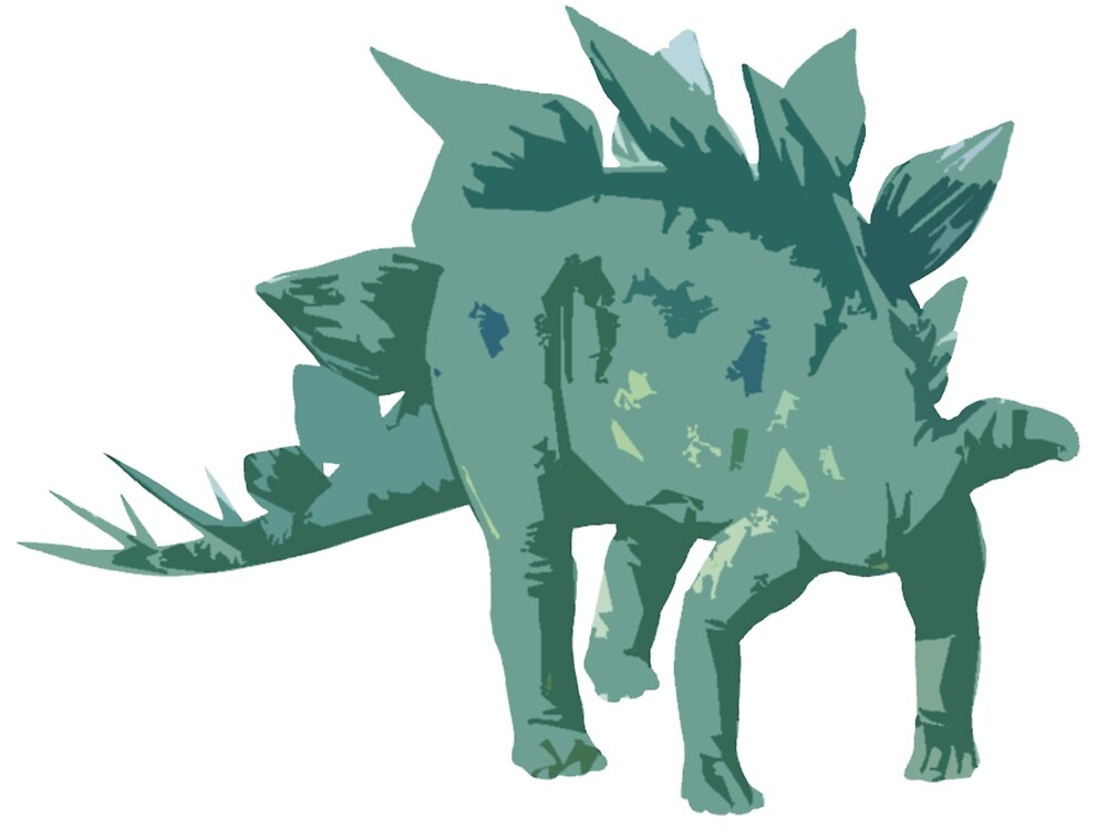 Stegosaurus by jeremydwilliams