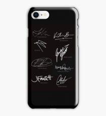 Orphan Black Cast Signatures  iPhone Case/Skin