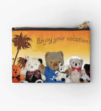 Enjoy Your Vacation Studio Pouch