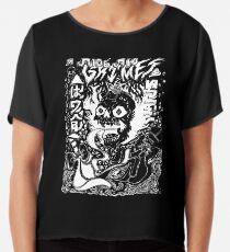 Grimes Visions Umgekehrtes Okkultismus Chiffontop