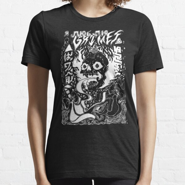 Grimes Visions Inverted Occult Essential T-Shirt