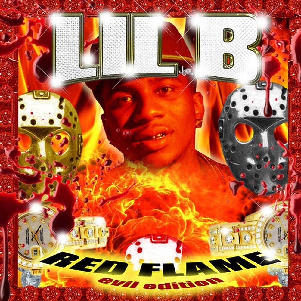 Lil B Evil Red Flame Mixtape by mufasajeff